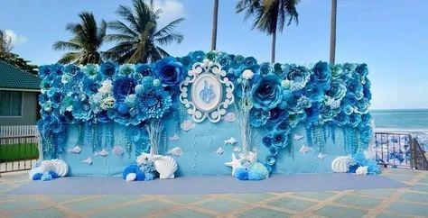 Decoração Flores Gigantes Casamento Festa Eva Eventos Painel - R$ 790,00 em Mercado Livre