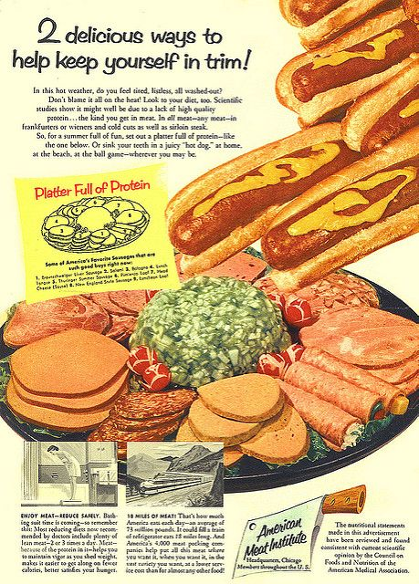 1956--cascading hot-dogs   Flickr - Photo Sharing!