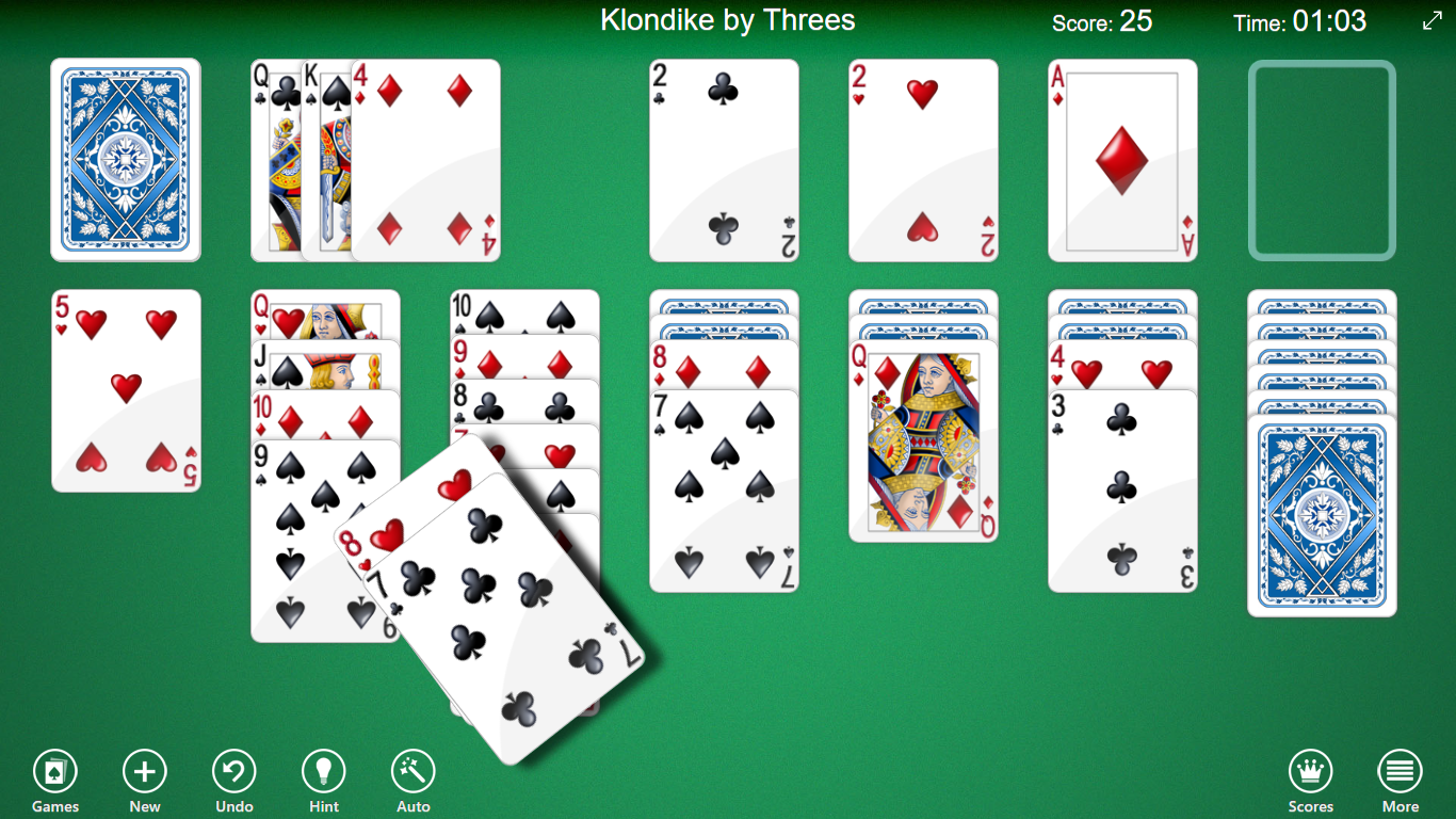 123 Free Solitaire is the Microsoft Store version of the