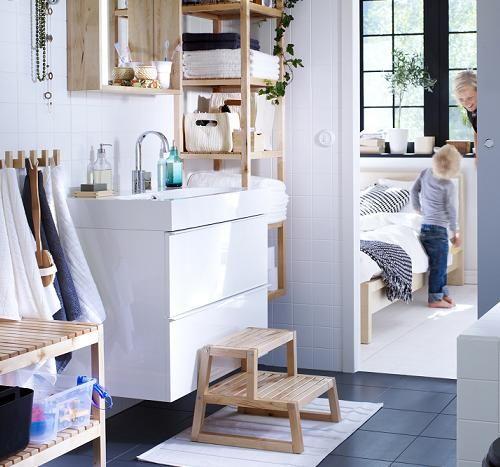 Muebles de baño Ikea: lavabo GODMORGON | baño pequeño | Pinterest ...