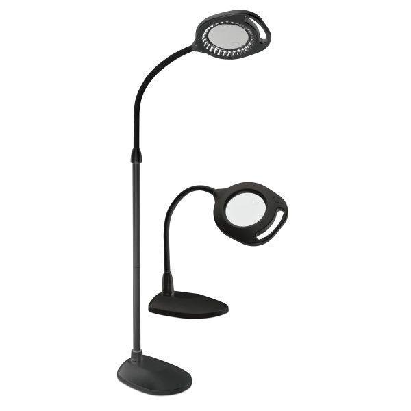 Ott Light Floor Lamp With Magnifier Magnifying Desk Lamp