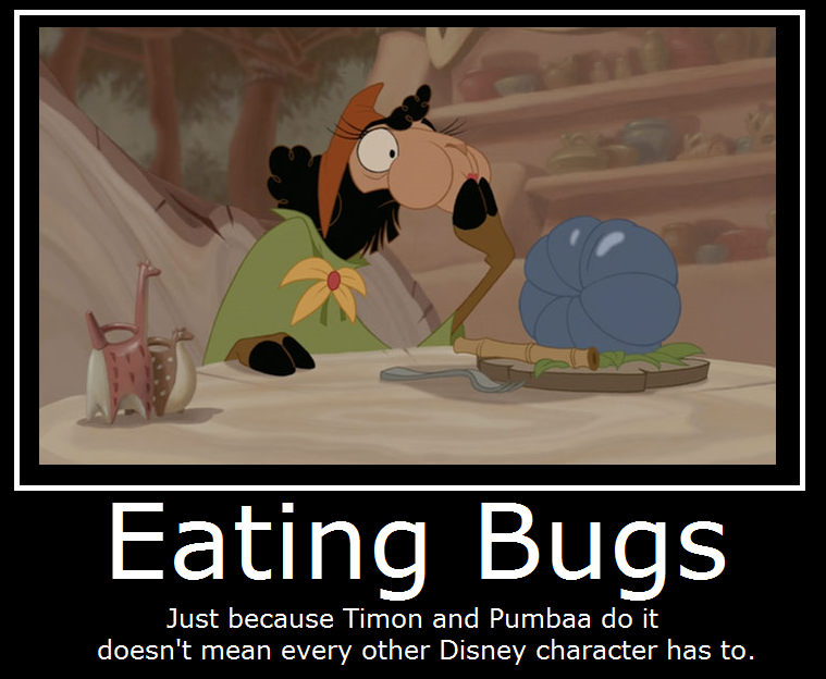 The Emperor's New Groove- Eating Bugs By MasterOf4Elements