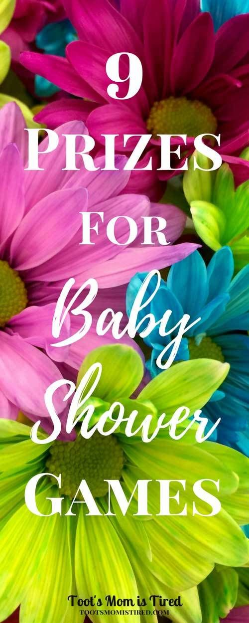 9 Prizes For Baby Shower Games | Shower Prizes, Door Prizes And Baby Shower  Games