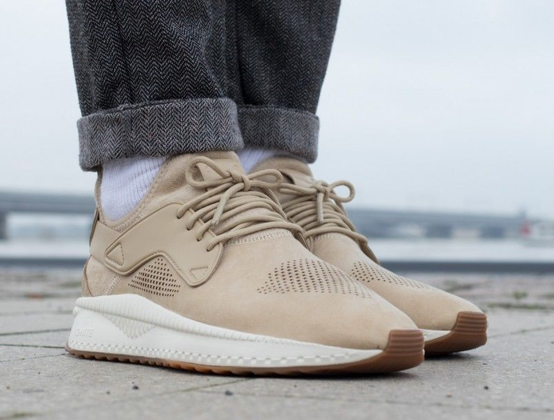 517ece1980a6dd PUMA TSUGI CAGE ROASTED SAFARI   WHISPER WHITE SNEAKERS IN ALL SIZES  PUMA   RunningShoes