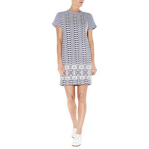 Buy NW3 by Hobbs Lois Dress, Blue Multi Online at johnlewis.com £79
