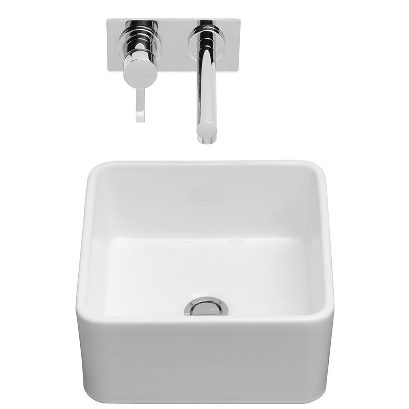 Caroma Cube 320 White Above Counter Vanity Basin