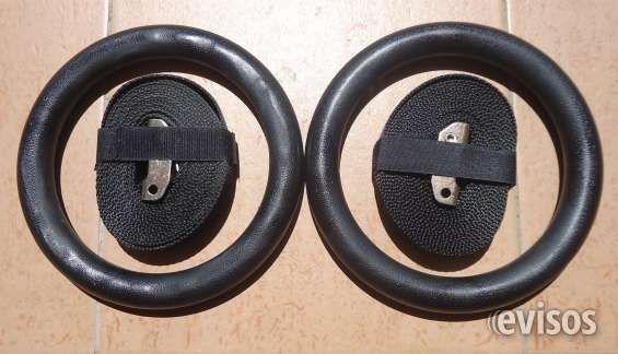 JUEGO DE ANILLAS PARA ENTRENAMIENTO FUNCIONAL  Cod. 192 - Juego de 2 anillas negras negras para ..  http://tres-cruces.evisos.com.uy/juego-de-anillas-para-ent-funcional-id-315176
