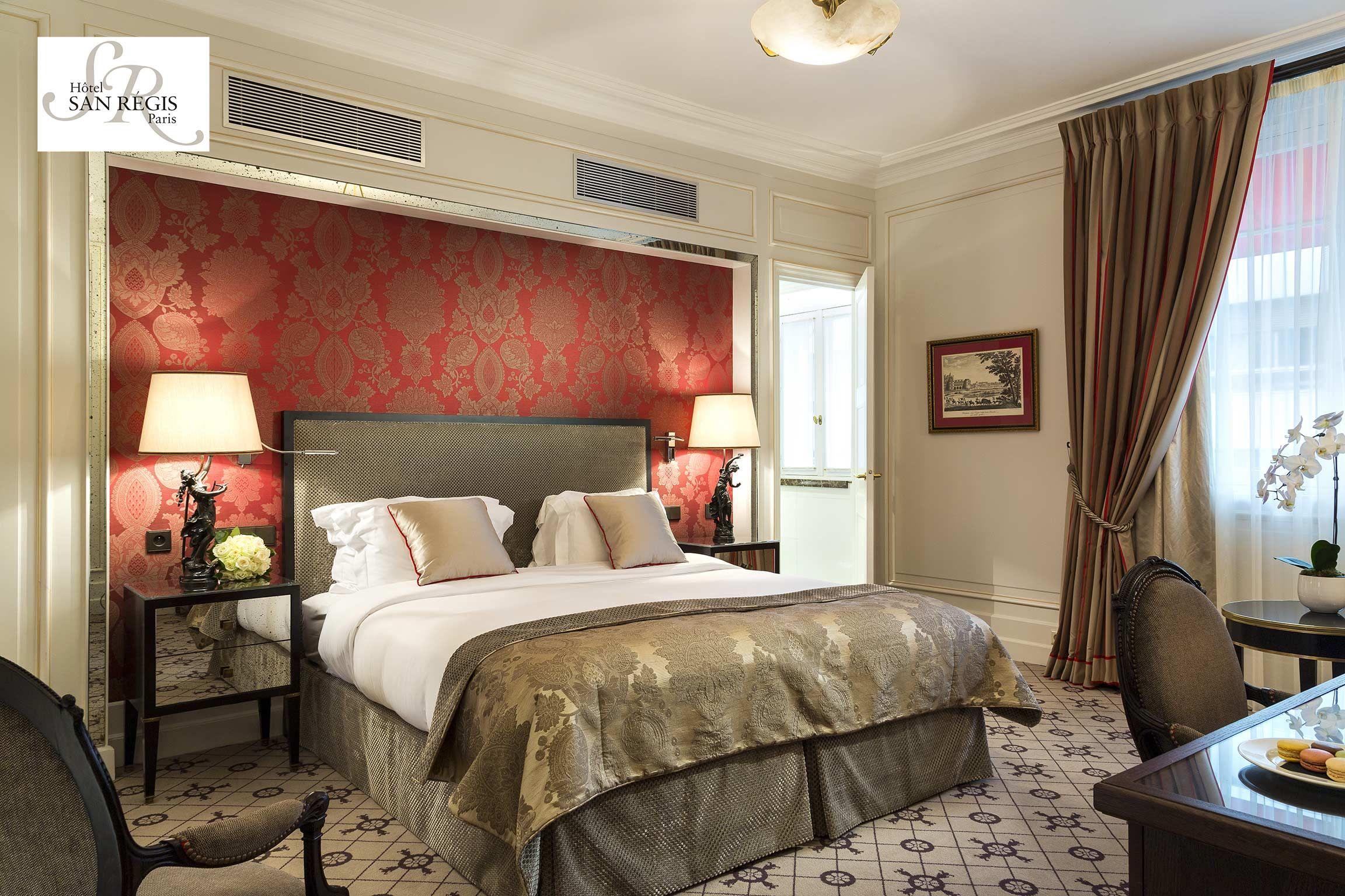 Hôtel San Regis, Paris, France (chambre de luxe) - Crédits photo ...