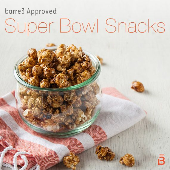Photo of barre3 Approved Super Bowl Snacks – barre3
