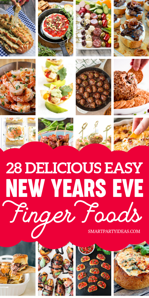 28 Easy Appetizers For A New Years Eve Party - Smart Party Ideas