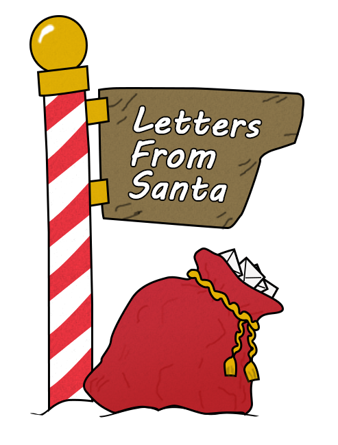 North Pole - Send in a letter by DEC 15, and sneak in a reply from Santa and the Postal service will get it back to your children.