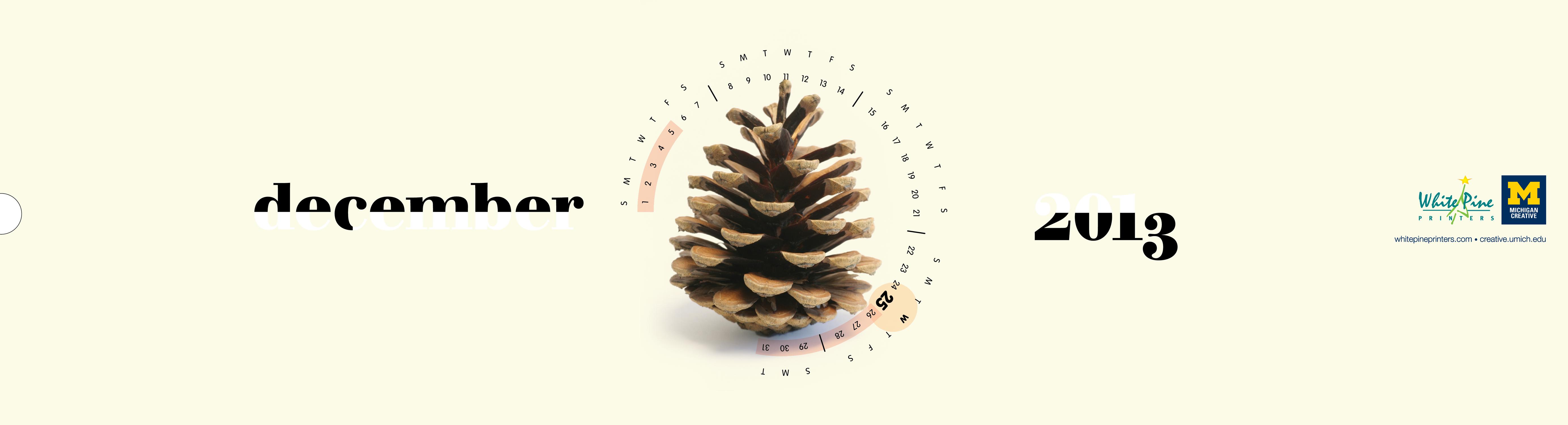 Calendar Design December