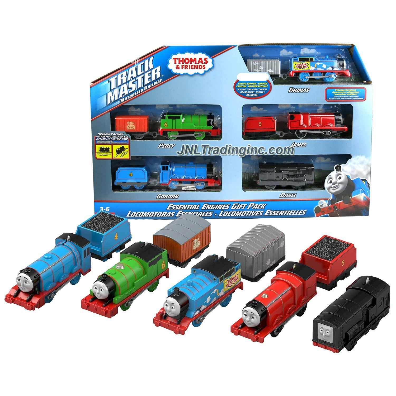 Year 2014 Thomas and Friends Trackmaster Motorized Railway ...