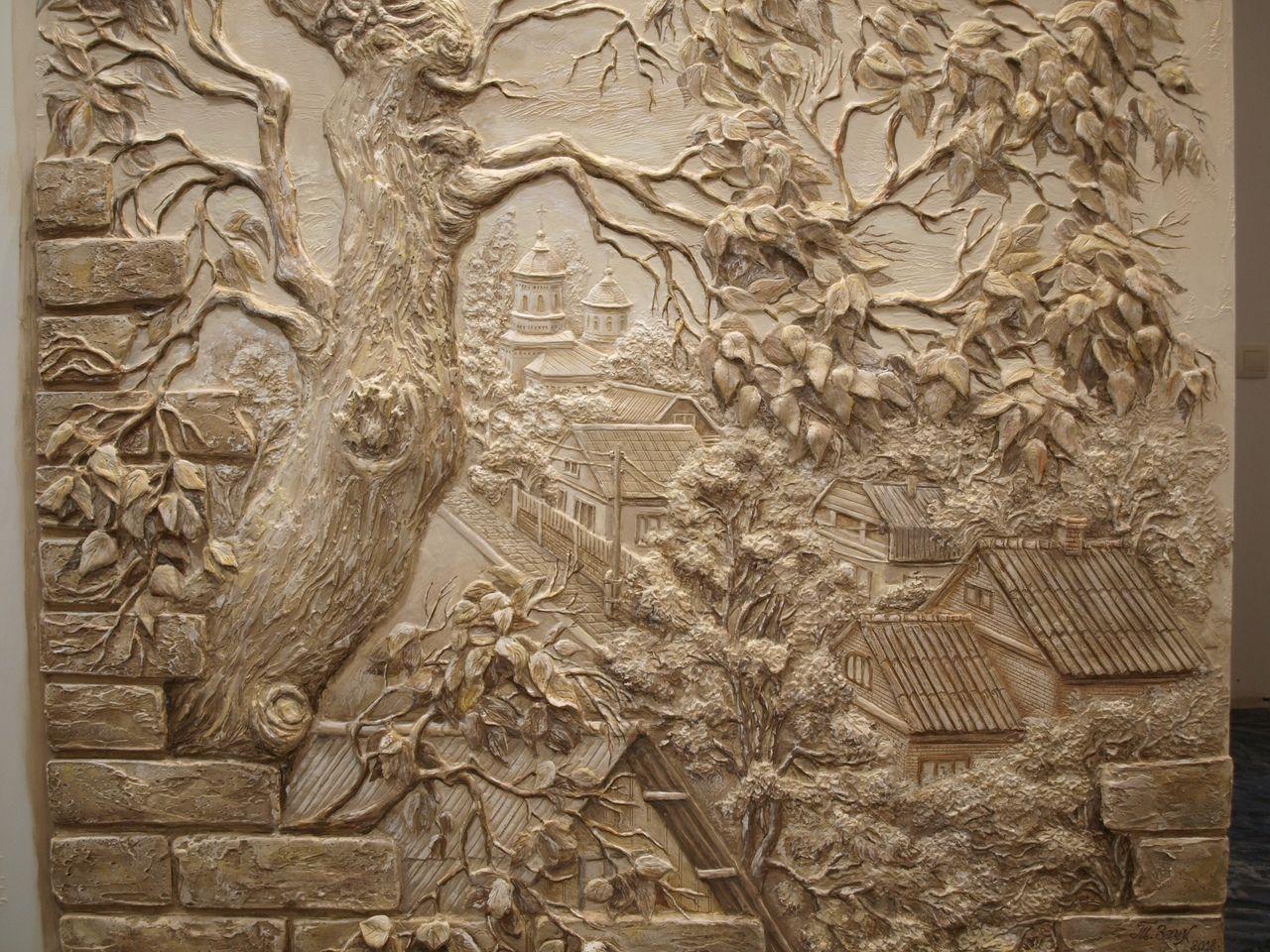 барельеф дерева фото рамок