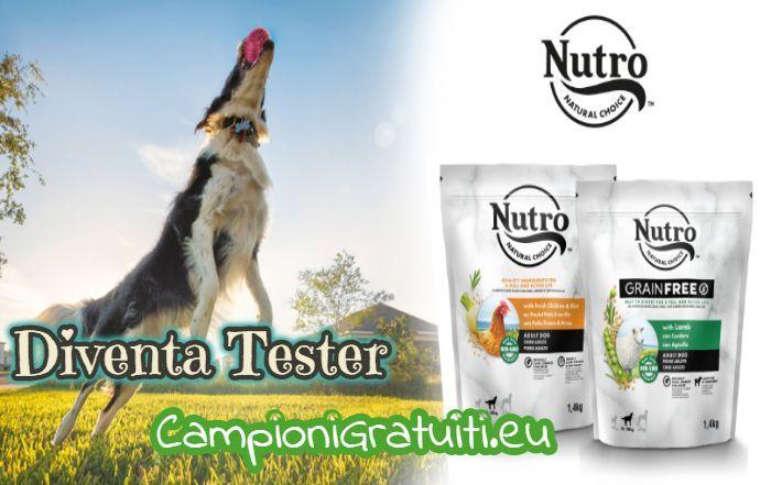 Diventa Tester Crocchette Nutro per cani con The Insiders
