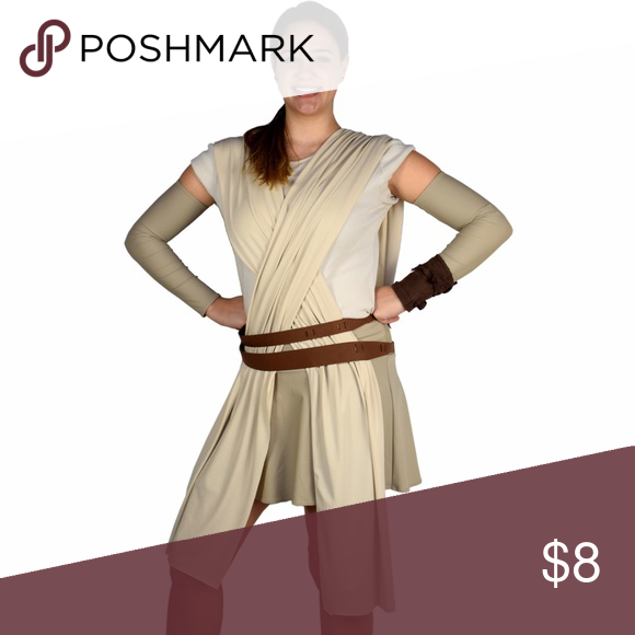 """Sparkle Athletic """"Rey"""" Compression Sleeves Sparkle Athletic compression running sleeves, size small. Used once as Rey for a Star Wars themed running outfit. Disney Accessories"""