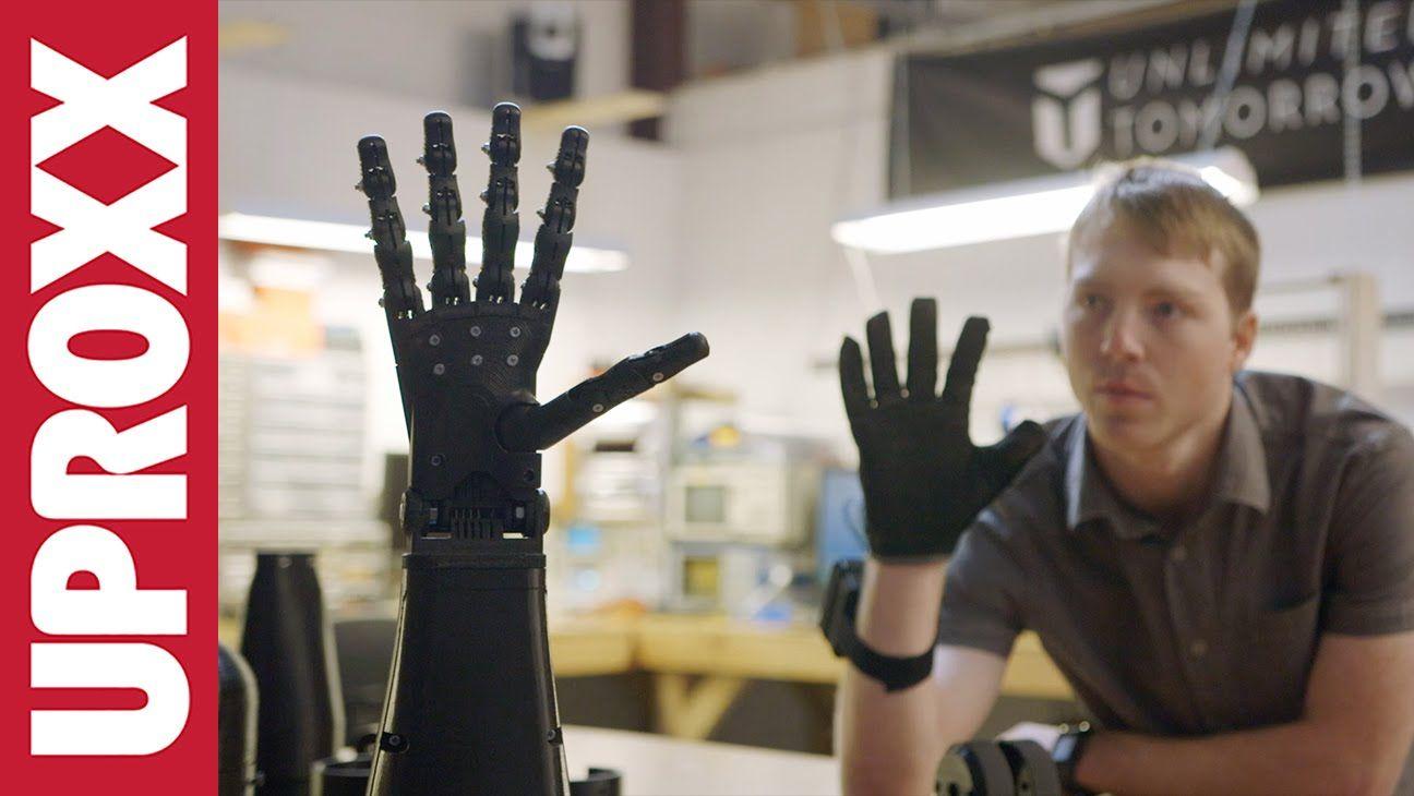 Luminaries: Prosthetic Arm Engineer Easton LaChappelle