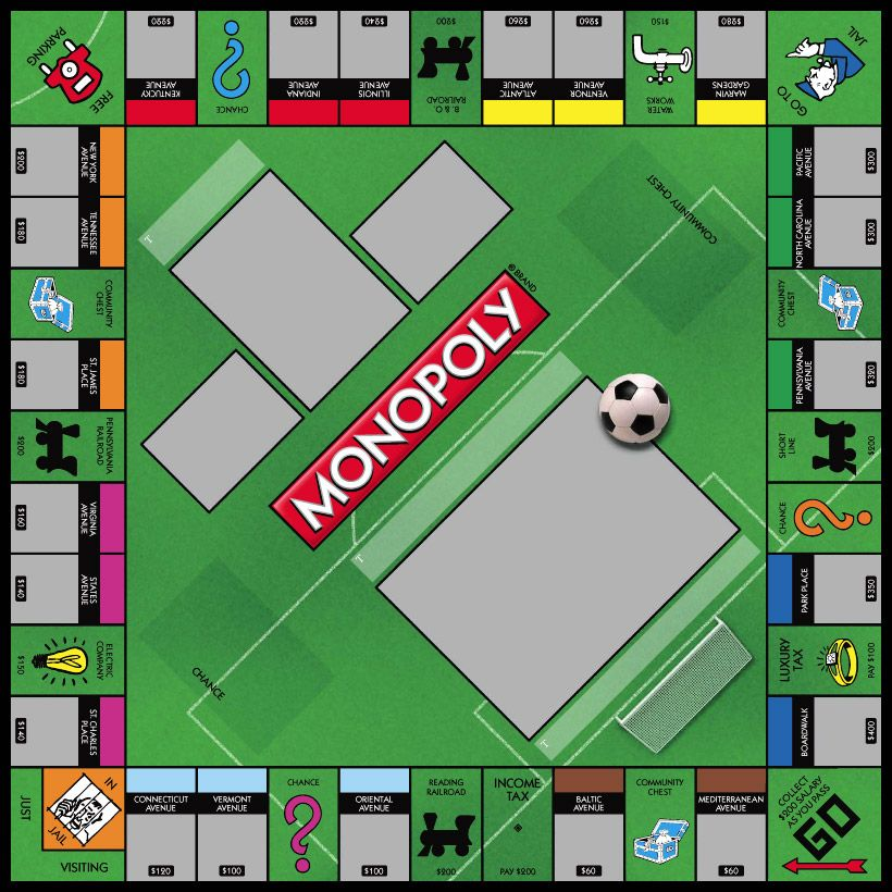 Sports Soccer How to memorize things, Monopoly