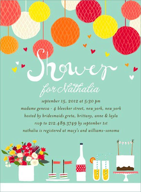 Bridal Shower Invitations Bridal Shower Invitation Design Ideas - fresh birthday party invitation designs