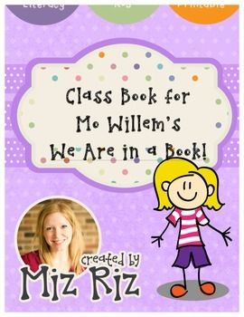 We are in a book mo willems