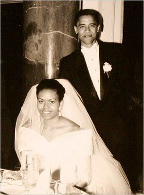 Our President and First Lady on their wedding day.