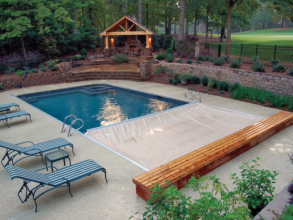 Covers for Existing Pools - Cover-Pools in 2019 | Wooden ...