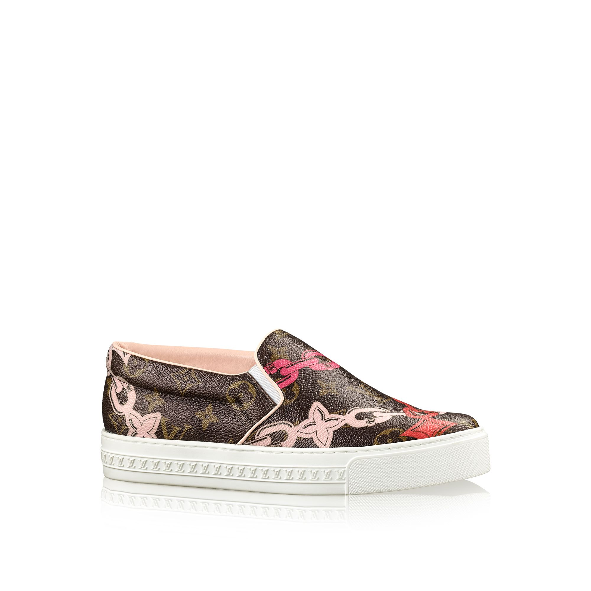 the harbor sneaker from the louis vuitton summer 2016