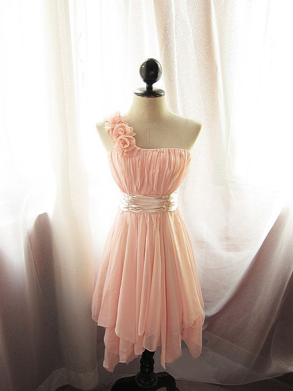 Goddess Angel Dusty Peach Pink Rose Romantic by RiverOfRomansk, $79.80