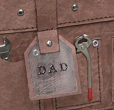 Tool Belt Box Or Card For Father S Day Or Handy People Template Tutorial Tool Belt Gift Box Template Box Template