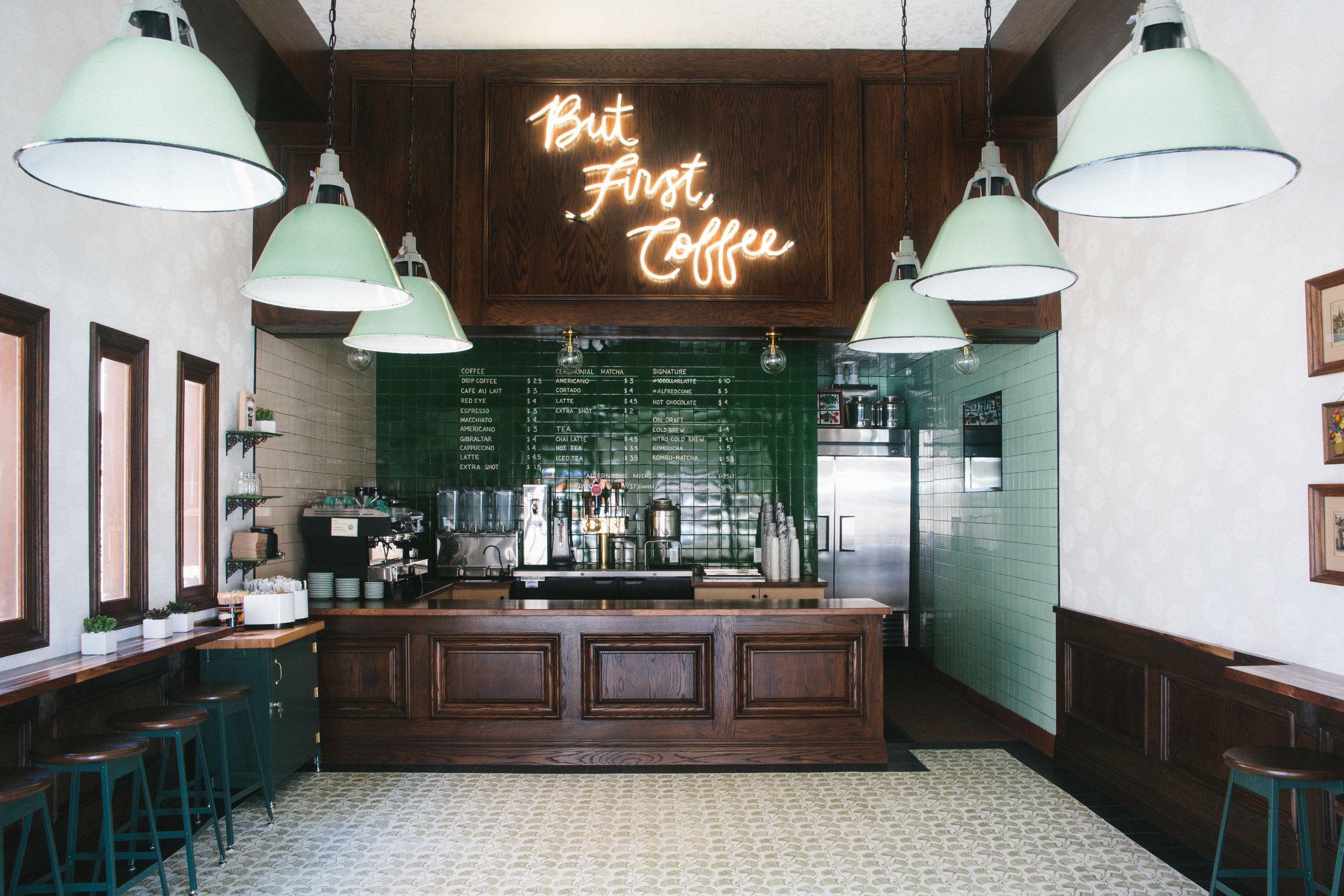 Alfred coffee kitchen studio city los angeles