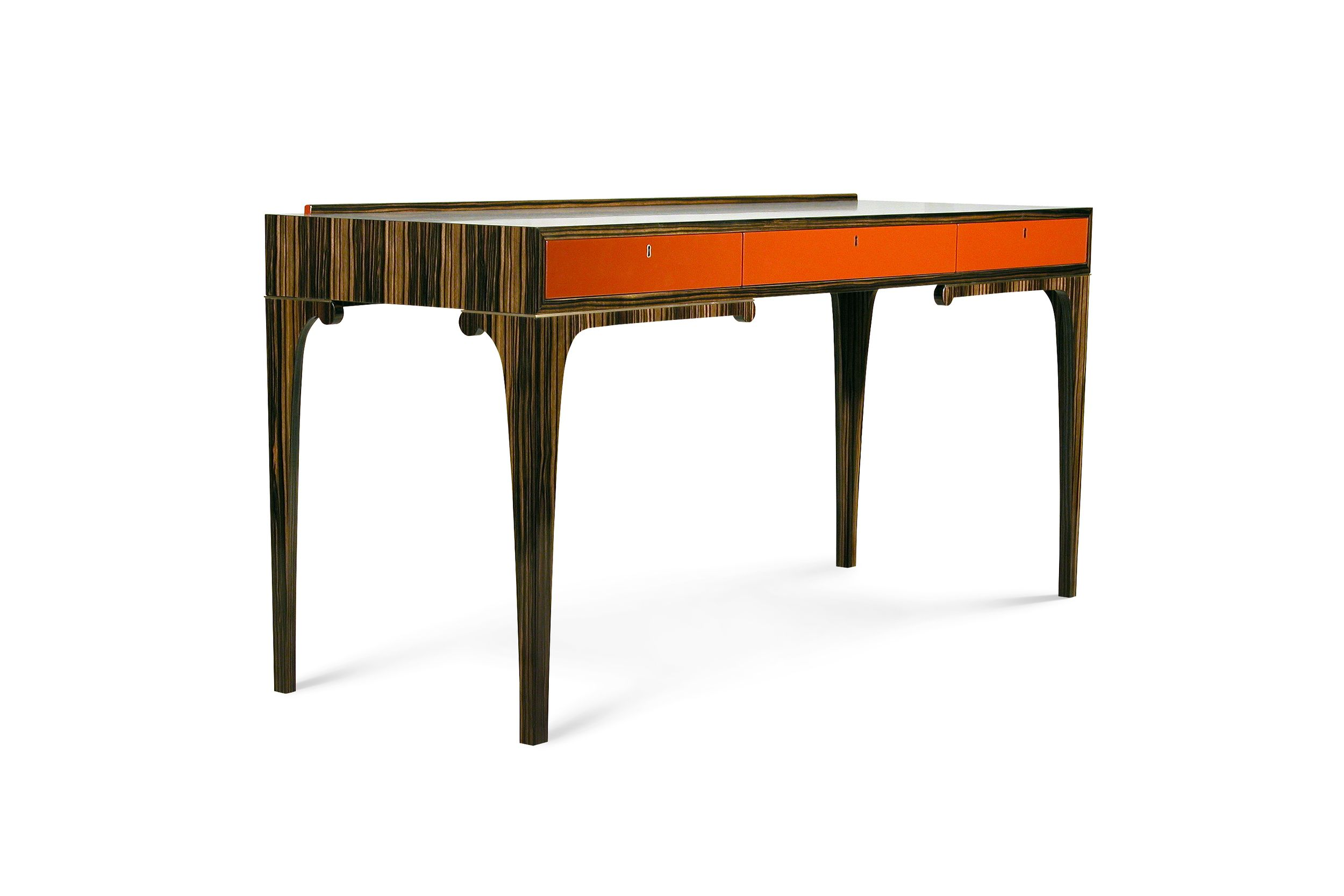 Gazelle Desk Is Modern Styling With A Nod To Deco