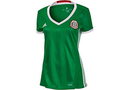 2015 16 adidas Mexico Womens Home Jersey. New at www.soccerpro.com right  now! 2348aebde