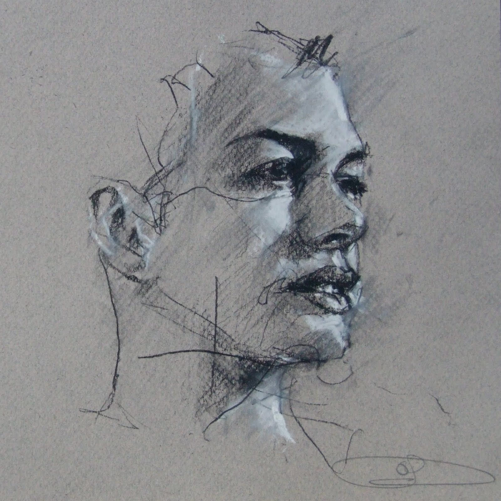 Guy Denning | drawing | Pinterest | Drawings, Portraits ...