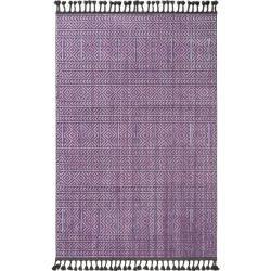 Photo of benuta Trends Kurzflor Teppich Laila Lila 190×290 cm – Moderner Teppich für Wohnzimmer