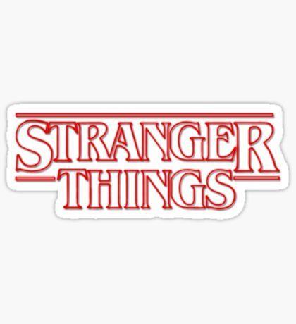 Stranger Things Stickers Pegatinas Diseno De Pegatina Y