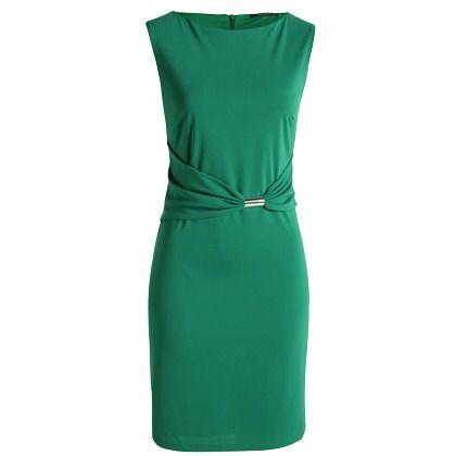 Elegantes grünes Kleid von Esprit. Der feminine ...