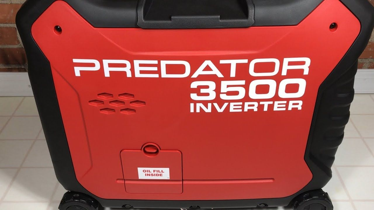 Predator 3500 Watt Super Quiet Inverter Generator from