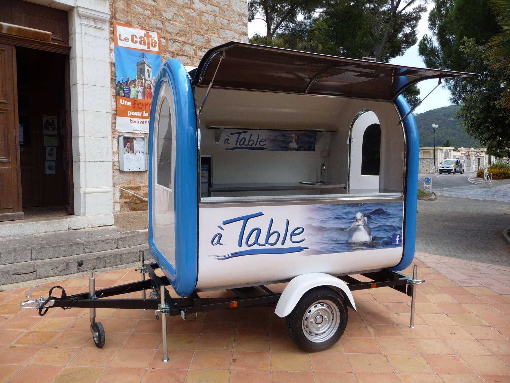 marque mazaki motor produits food truck remorque snack trailers food trailer remorque. Black Bedroom Furniture Sets. Home Design Ideas