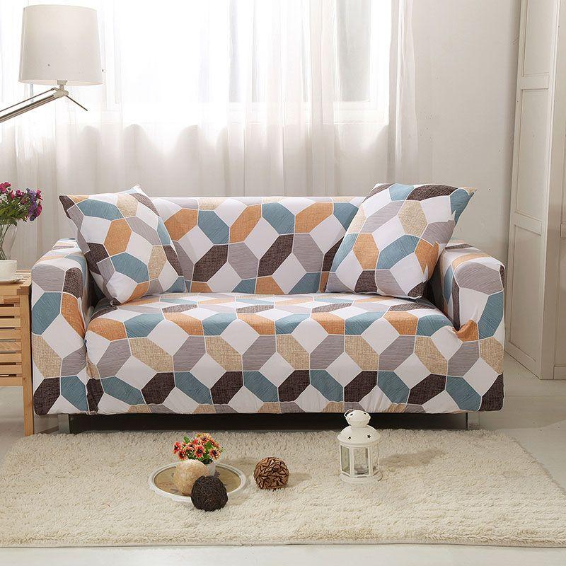 Magic Elastic Stretch Sofa Cover In 2020 Corner Sofa Covers Slipcovers Slipcovers For Chairs
