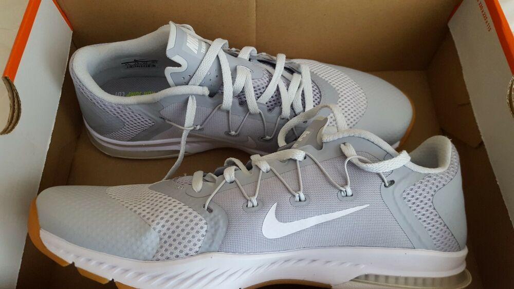 NIKE Men's Zoom Training Shoe Wolf Grey/White Pure