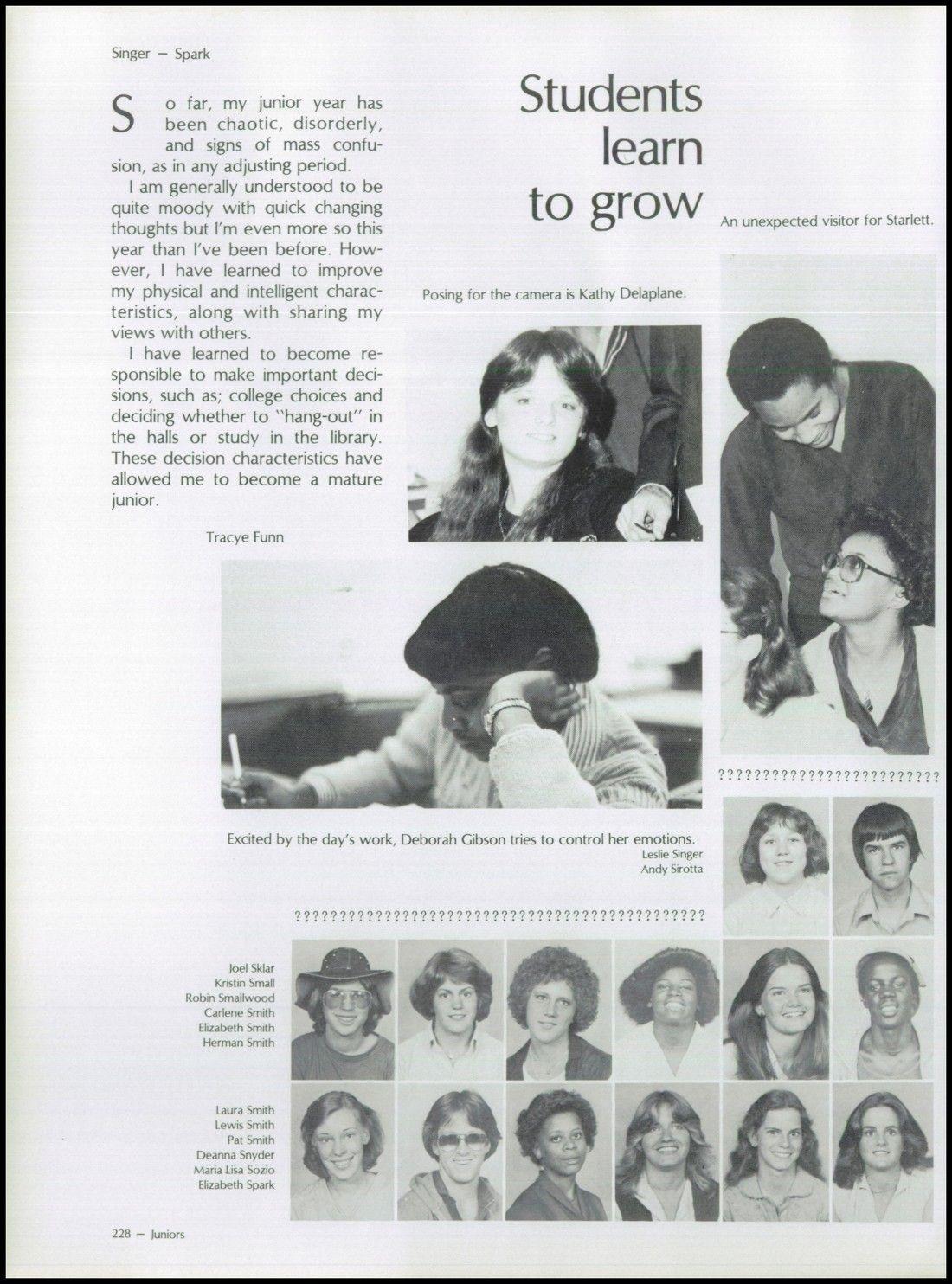 Lewis Smith 1980 Junior Year Tc Williams High School Alexandria
