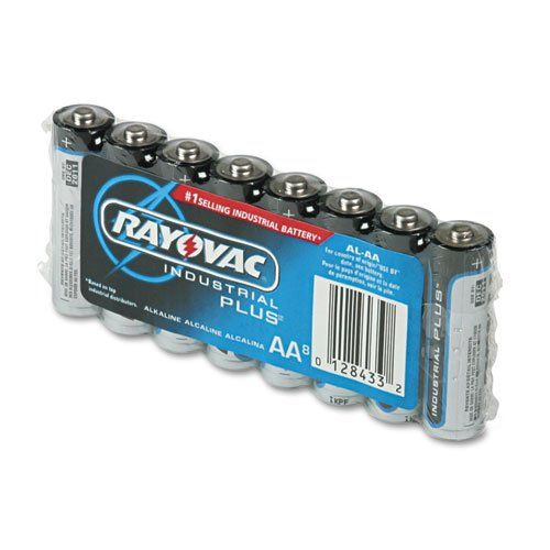 Rayovac Industrial Plus Alkaline Batteries Aa 8 Pack Maximum Industrial Batteries For Commercial Applicati Alkaline Battery Batteries Electrical Supplies