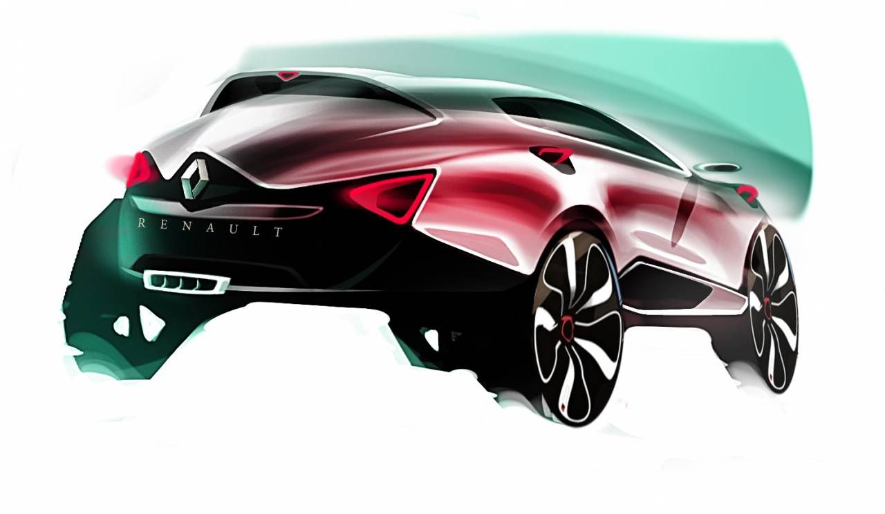 Renault Suv Sketch Concept Sketch Pinterest Sketches Car