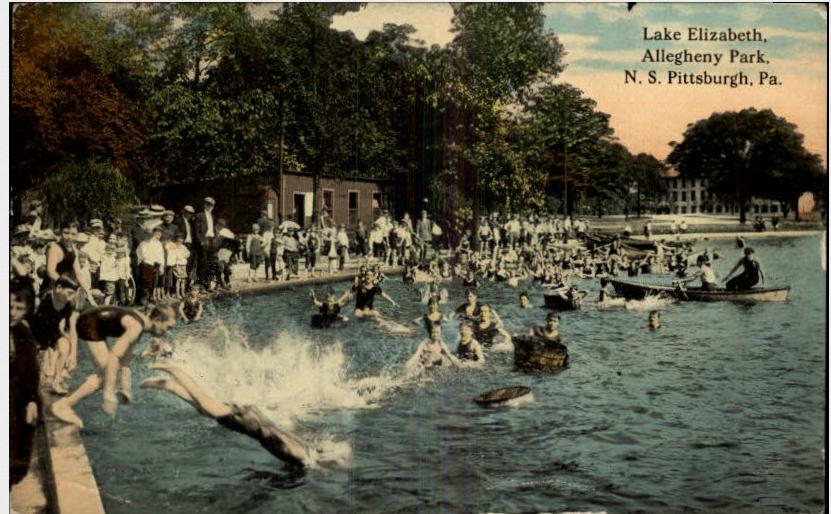 lake elizabeth - west park