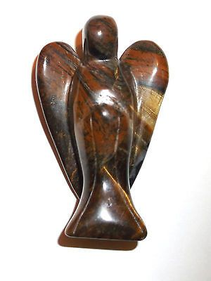 Tigers eye #crystal angel #carving. #ref:(m.ta1),  View more on the LINK: http://www.zeppy.io/product/gb/2/121348565860/