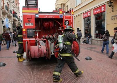 Alarma en multitienda La Polar moviliza a bomberos en La Serena   El Observatodo.cl, Noticias de La Serena y Coquimbo