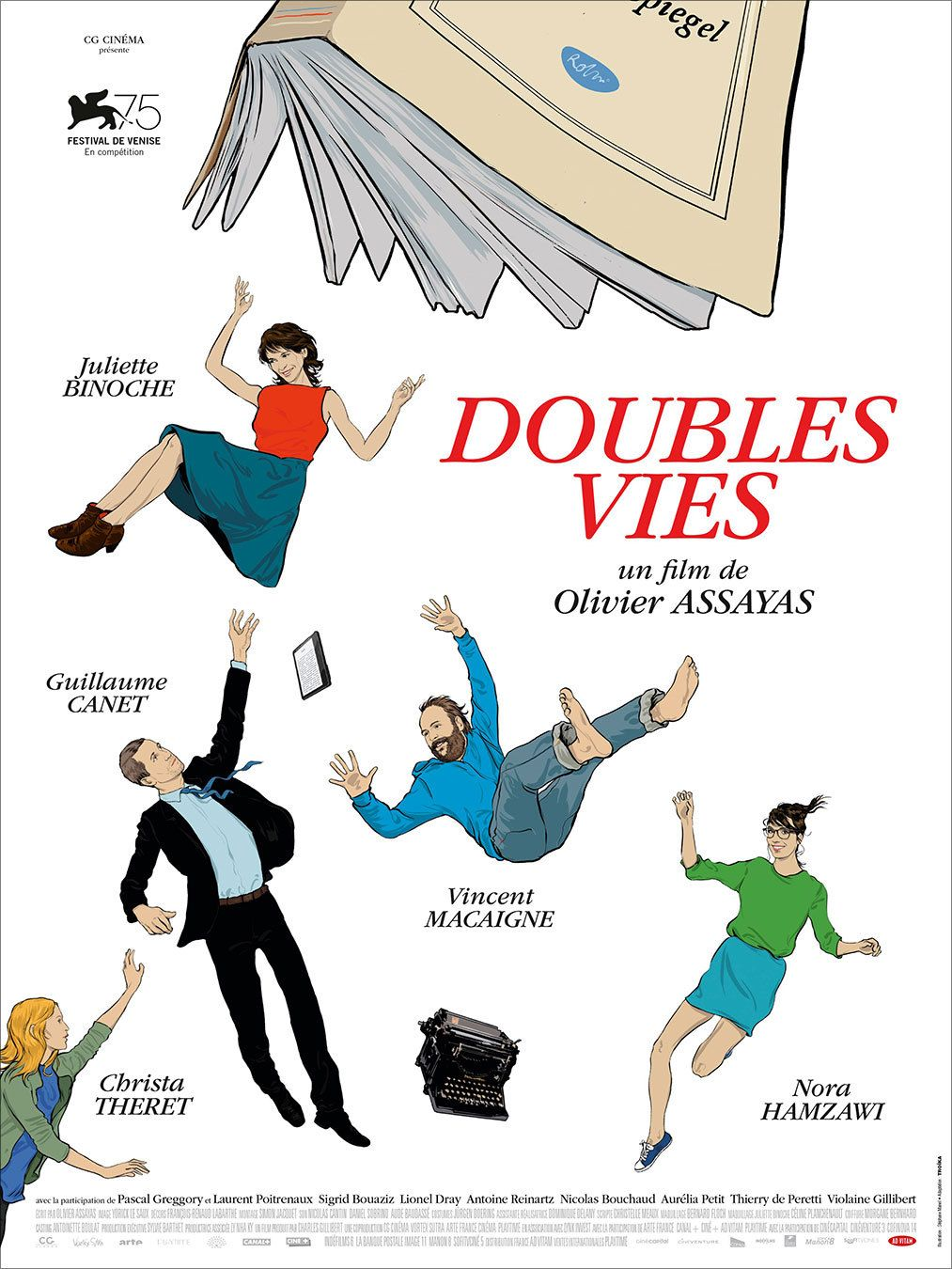 French Grande For Doubles Vies Aka Non Fiction Olivier Assayas