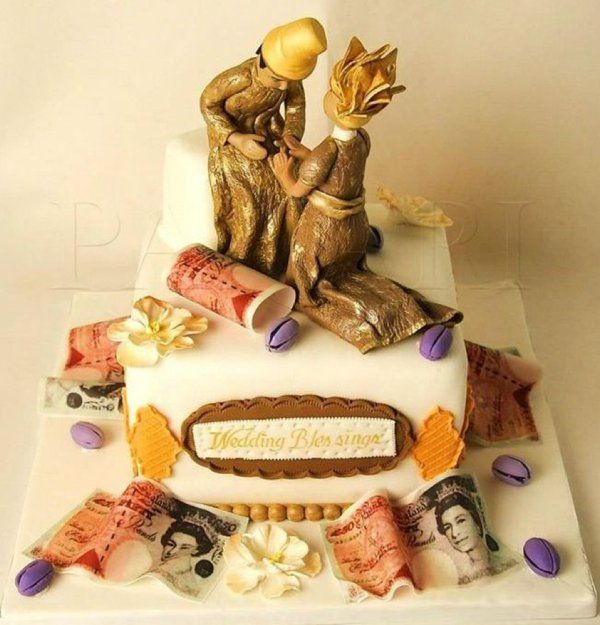 Traditional Wedding Cakes Pictures In Nigeria