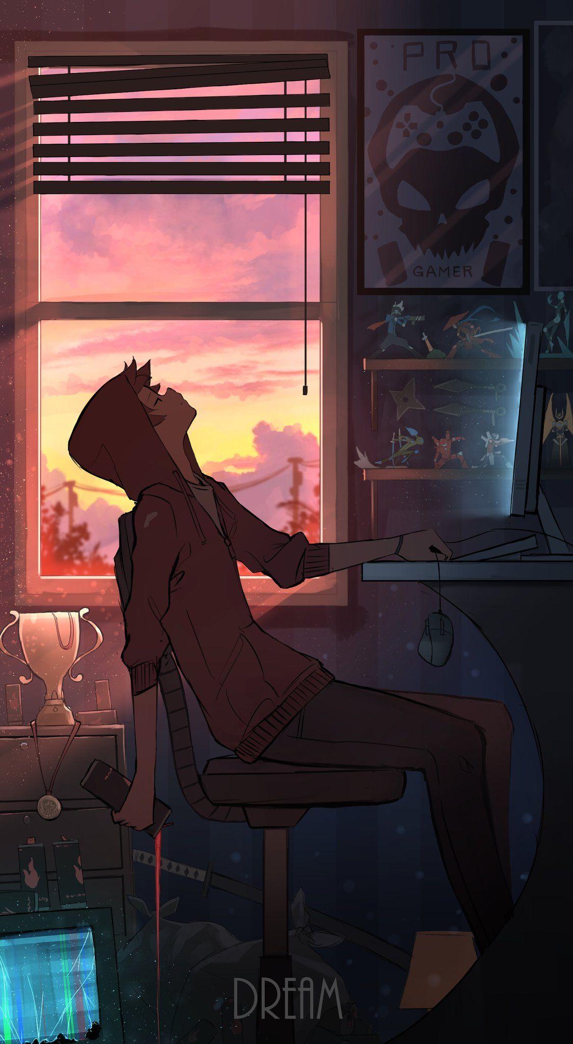 Pasoputi On Twitter Anime Scenery Anime Backgrounds Wallpapers Anime Scenery Wallpaper