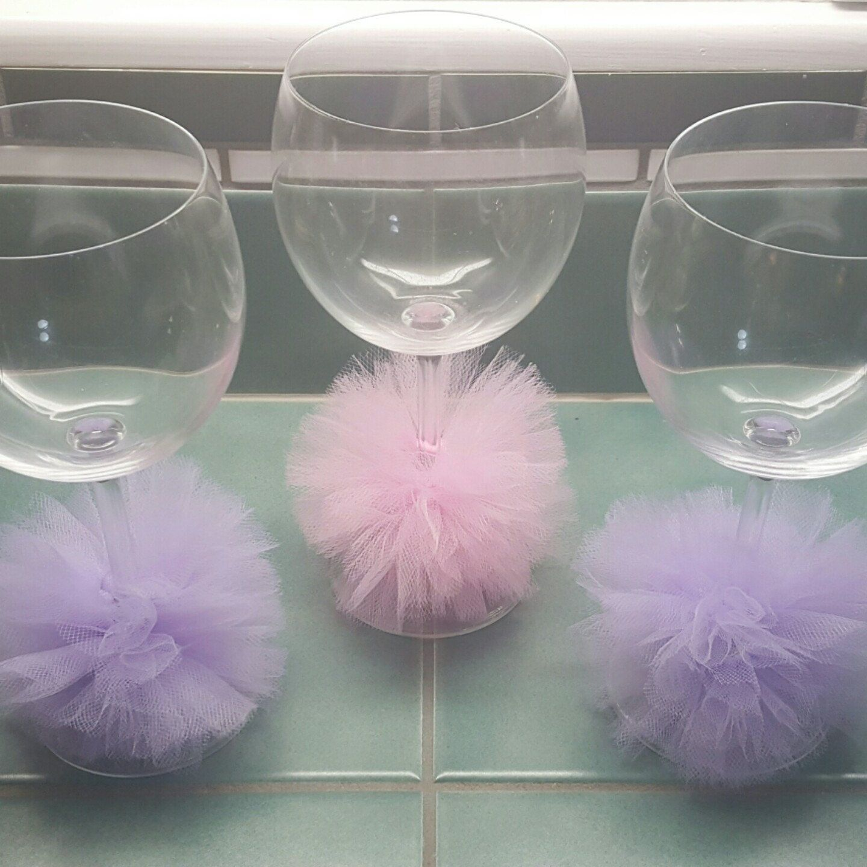Baby Shower, Bridal Shower, Birthday Or Girls Night Wine Glass